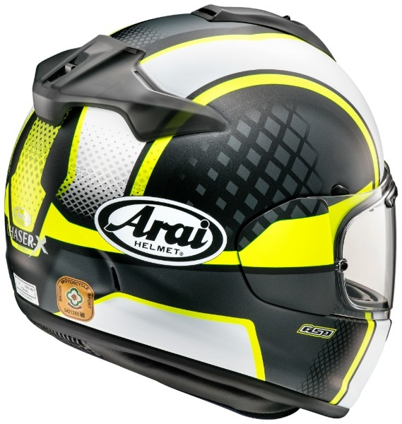 Casca Arai Chaser-X Take-Off