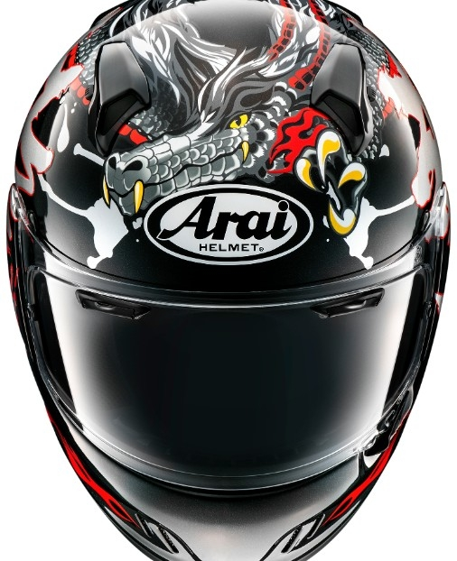 Casca Arai Renegade-V Dragon 1