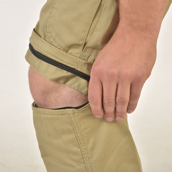 Pantaloni canvas Trilobite Dual, 2 in 1 3