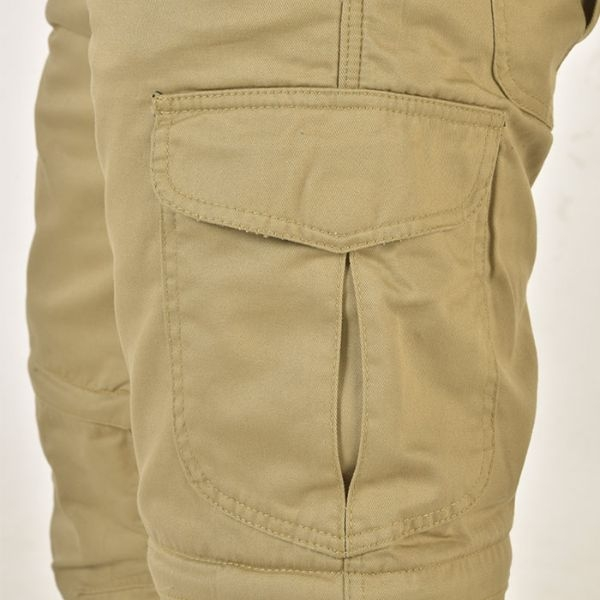 Pantaloni canvas Trilobite Dual, 2 in 1 4
