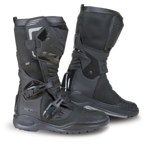 Cizme adventure Falco Avantour Evo, WP, D3O<sup>&reg;</sup>, Black